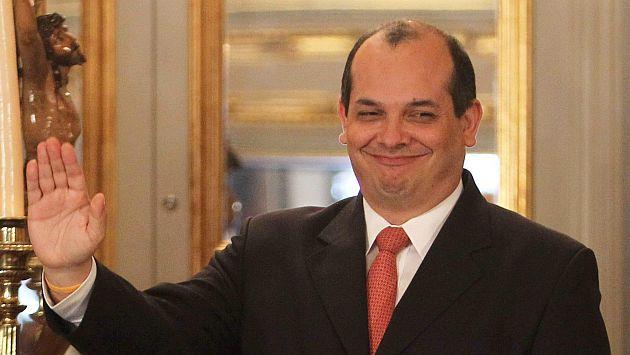 Luis Miguel Castilla, ministro de Economía y Finanzas.