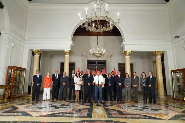 Humala ministros