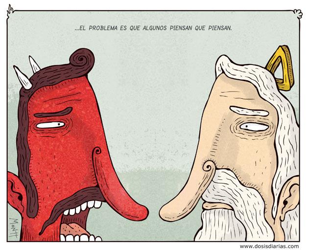 Ilustraciones: el genial Montt - http://www.dosisdiarias.com/